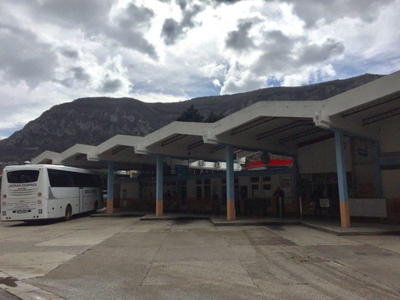 黑山共和國巴士站