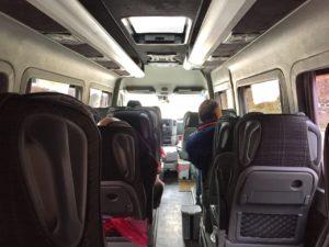 東歐巴士-巴士內部
