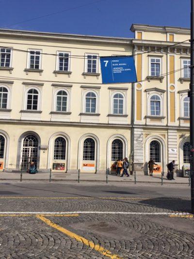 Ljubljana巴士吊牌
