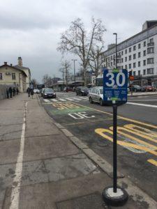 Ljubljana 巴士站牌