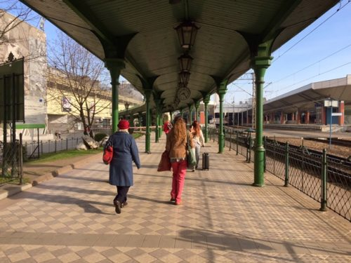 前往克拉科夫巴士站