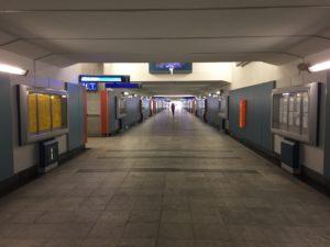 Krakow bus station