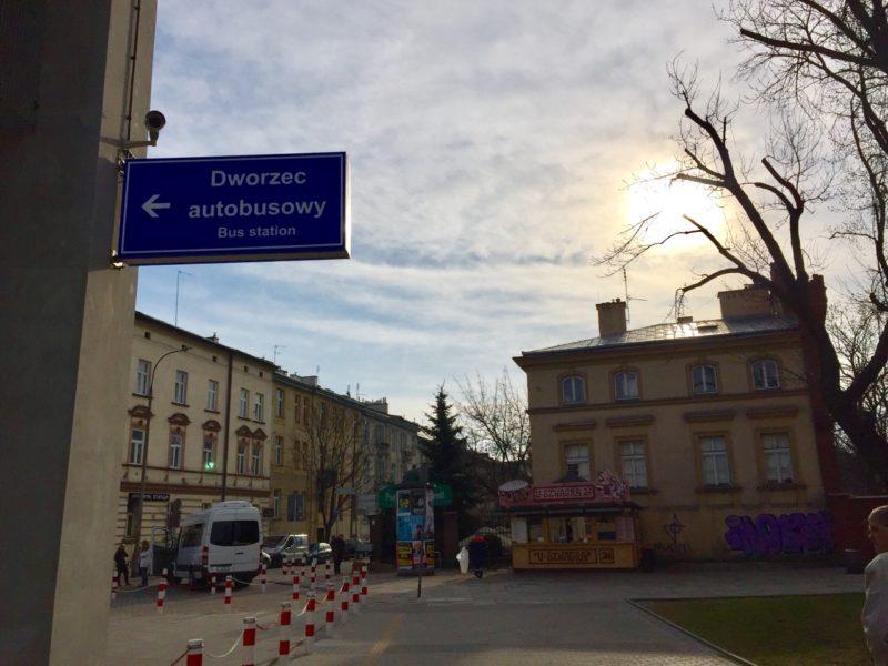 波蘭克拉科夫巴士站 Krakow MDA