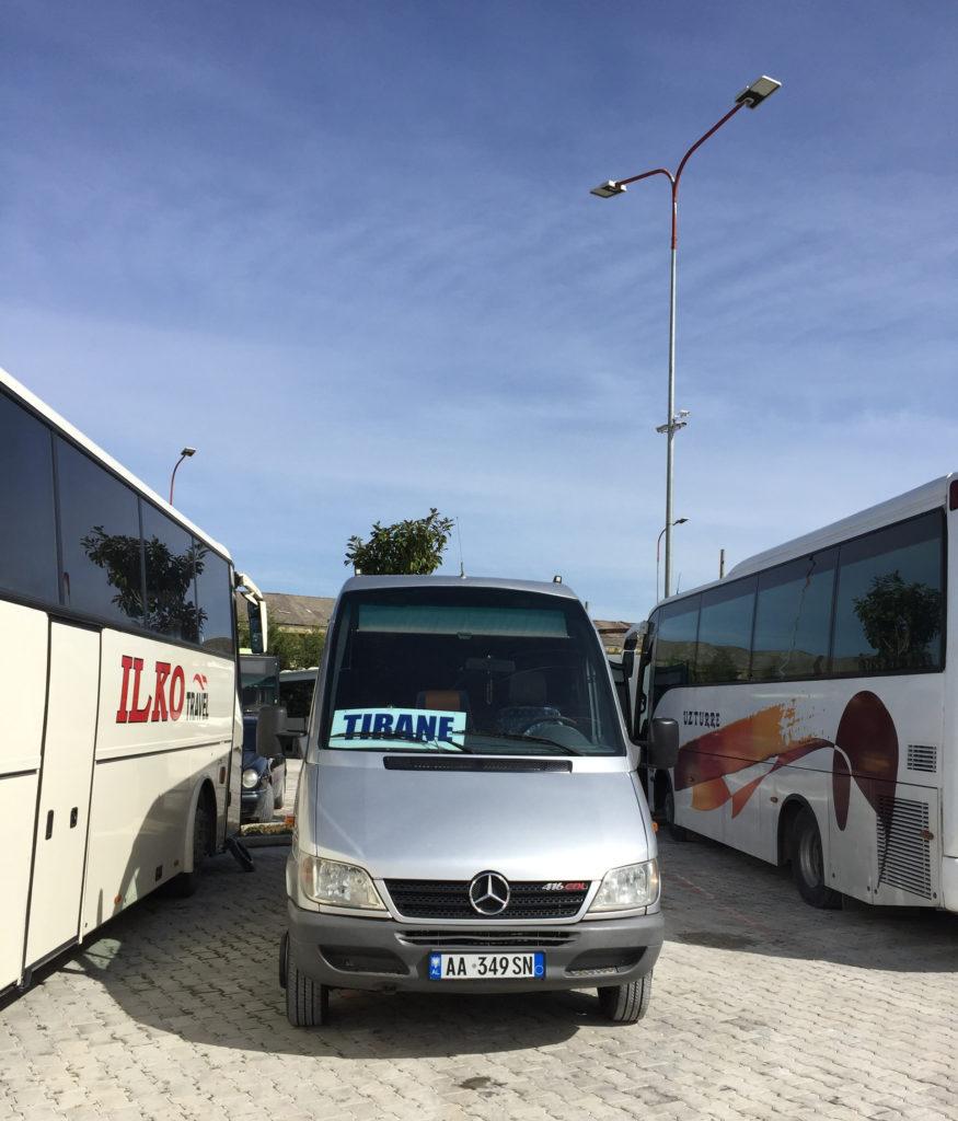 阿爾巴尼亞巴士站