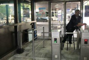 Sarajevo巴士站剪票口