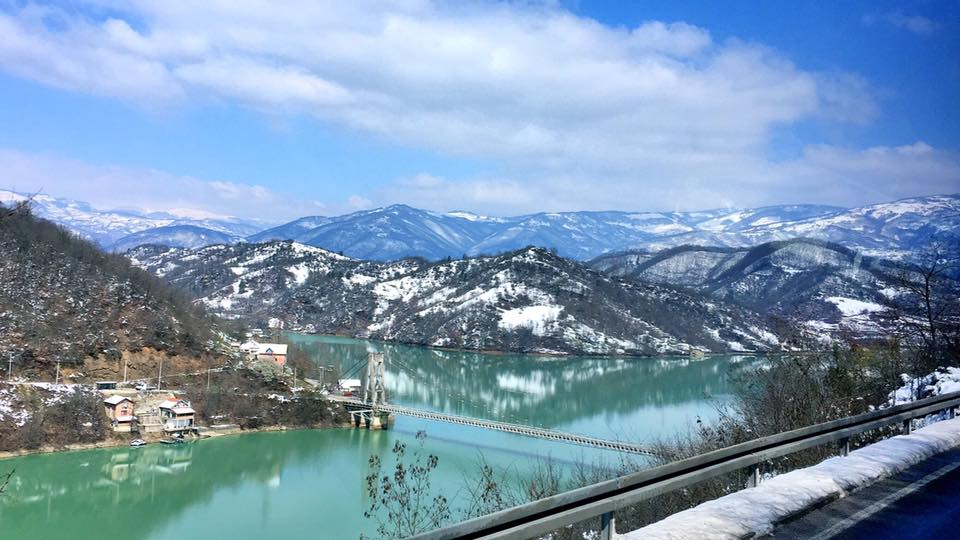 Mostar to Sarajevo 途中美景