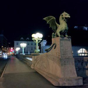 Ljubljana 火龍