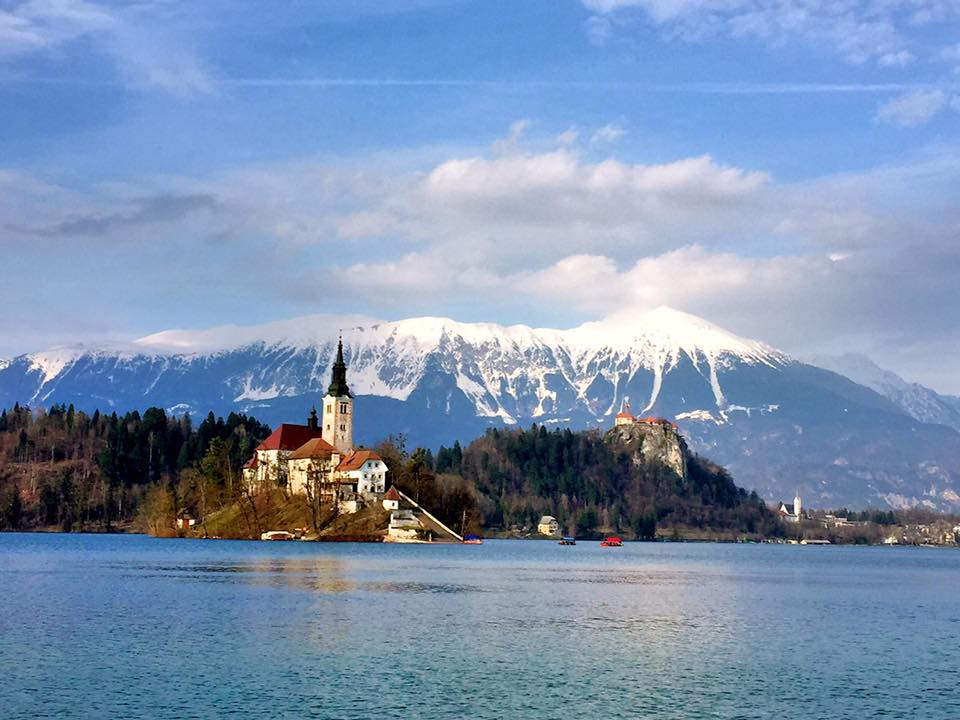 Lake Bled view