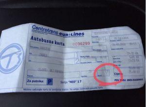 Sarajevo to Zagreb Ticket