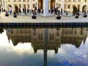 布達佩斯國會大廈倒影