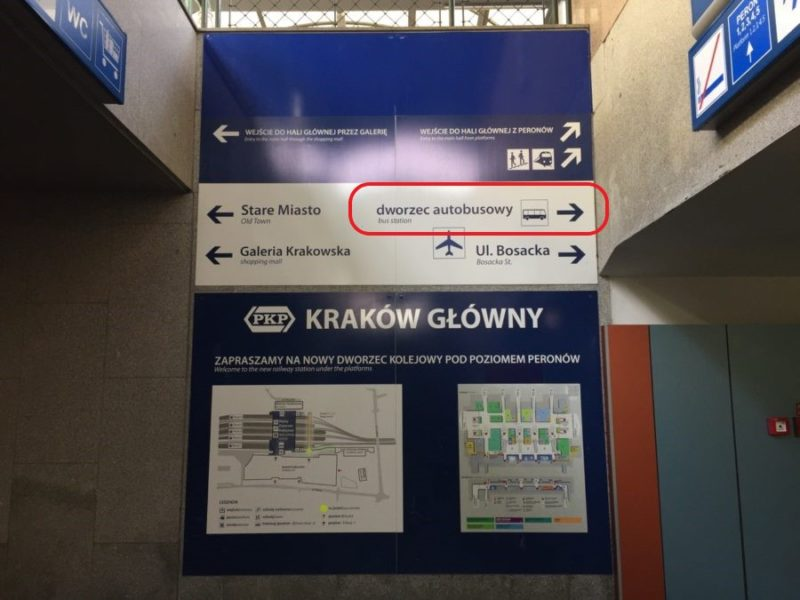 Krakow Bus Station