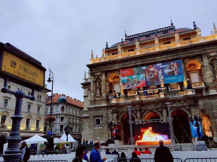 OPERA in Budapest, Hungary
