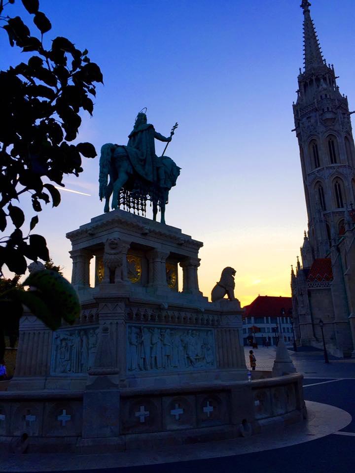布達佩斯-布達區-聖史蒂芬一世與馬提亞斯教堂