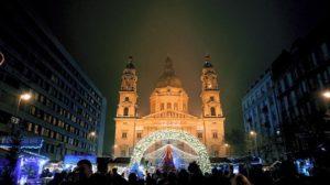 聖史蒂芬教堂前的聖誕市集