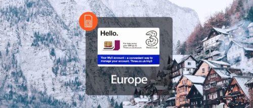 3電信全歐網卡
