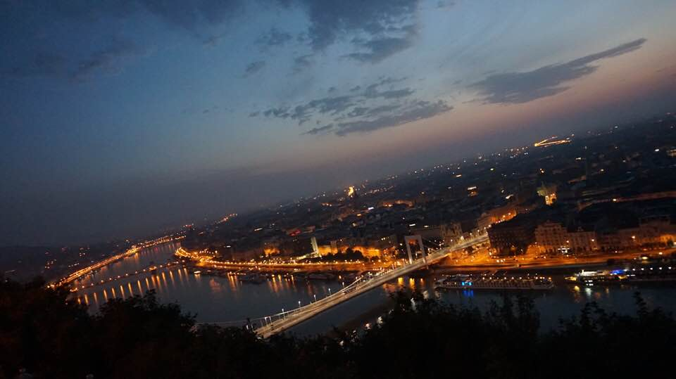 Gellert Hill night view