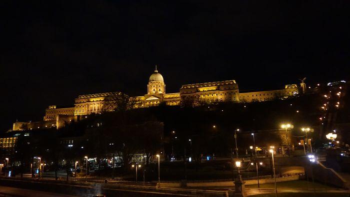 布達佩斯-布達皇宮夜景