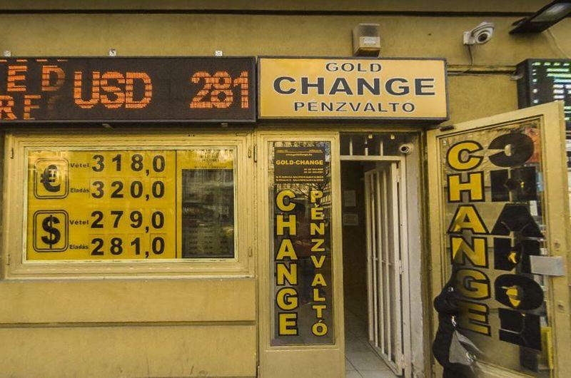 布達佩斯換匯所Gold-Exchange.這家匯率算不錯很多人推薦。