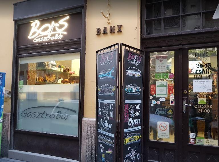Bors Gastro Bar in Budapest