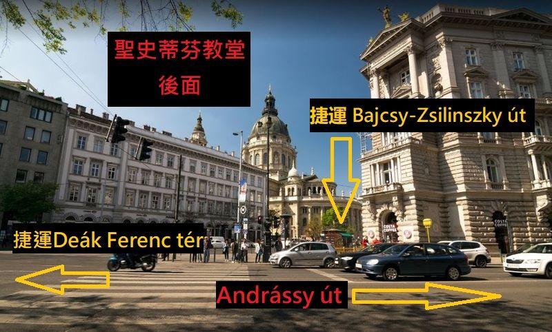 Andrássy út of Budapest