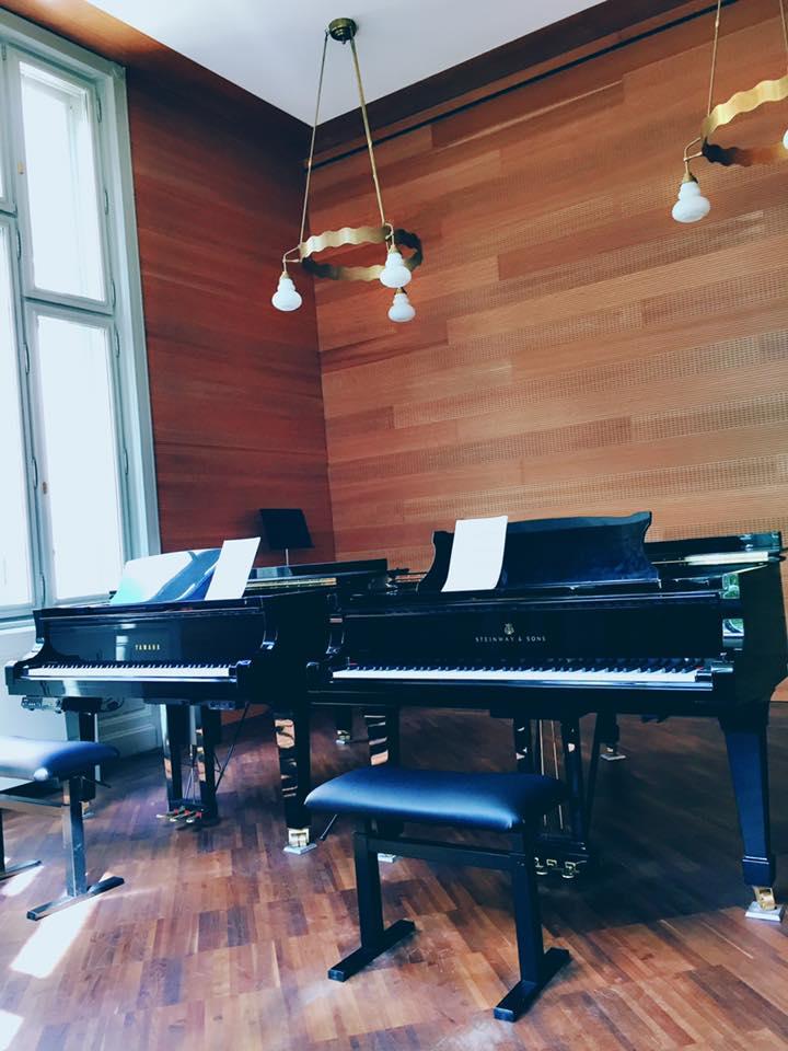 李斯特練琴室