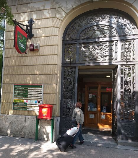 Post office in Budapest