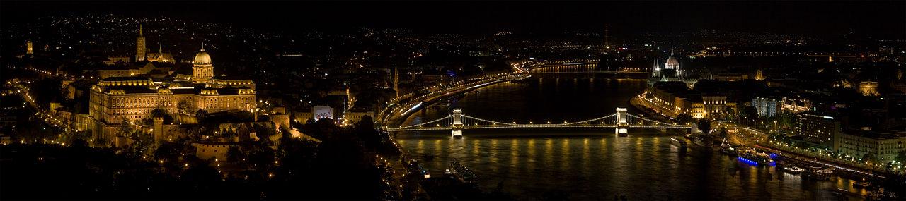 匈牙利布達佩斯-Night View in Budapest