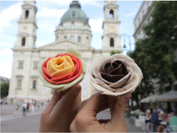 匈牙利布達佩斯甜點 Gelarto-Rosa