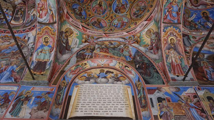 里拉修道院-壁畫