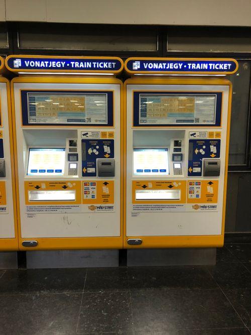 自動售票機-布達佩斯