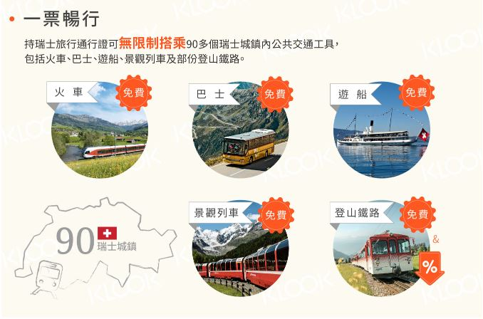 瑞士旅行交通券-Swiss Travel Pass