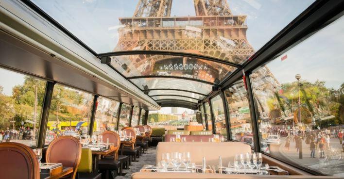法國巴黎-景點導覽巴士之旅