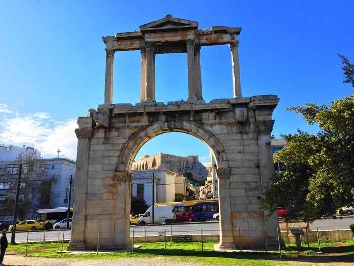 哈德良拱門Arch o Hadrian