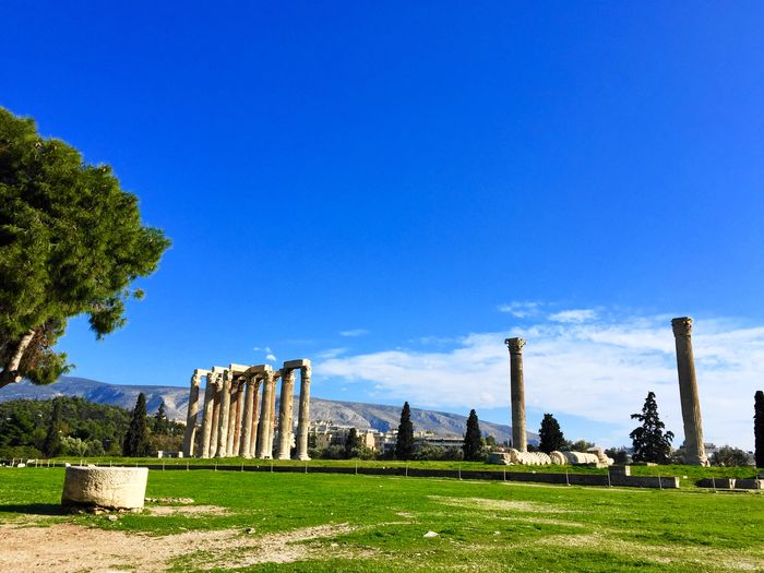 Temple of the Oympian Zeus
