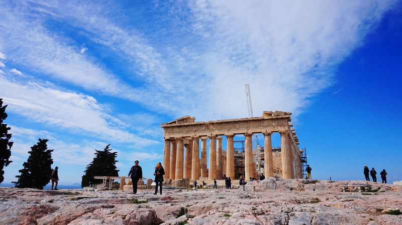 Parthenon of Athens