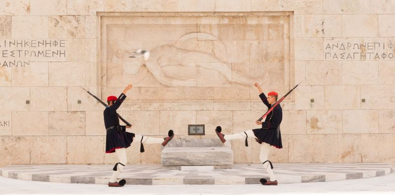 Tomb of the Unknown Soldier Greece