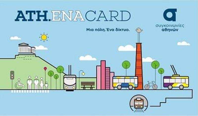Ath.ena-Card (塑膠材質)