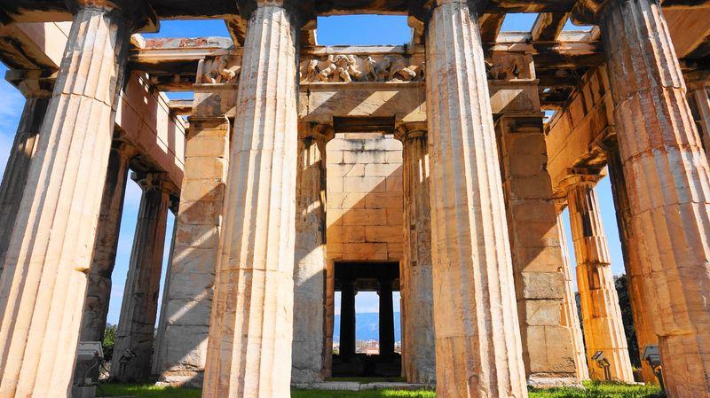 赫菲斯托斯神廟 Temple of Hephaestus