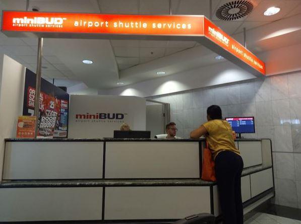 MiniBUD-布達佩斯機場交通