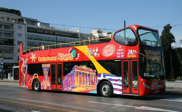 Sightseeing Bus in Athens