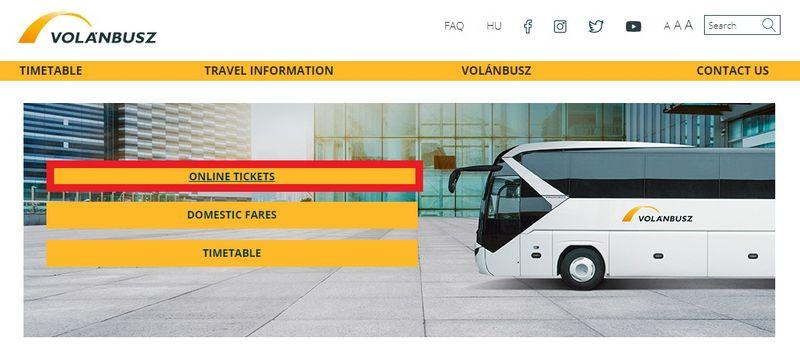 前往EGER巴士網站