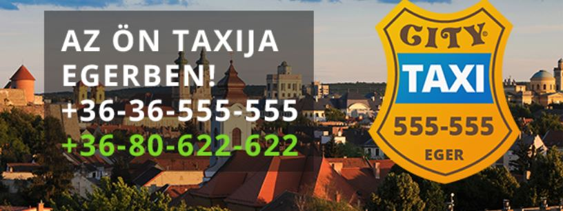 City taxi in Hungary