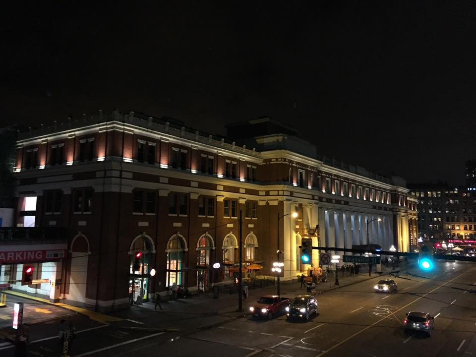WaterFront Station in Vancouver,Canada