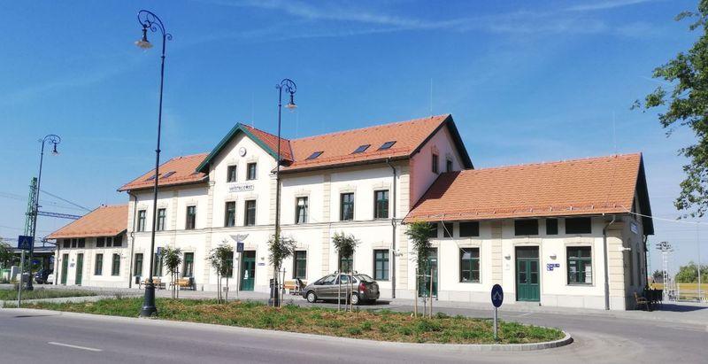 厄斯特貢火車站 Esztergom Railway Station ,Hungary