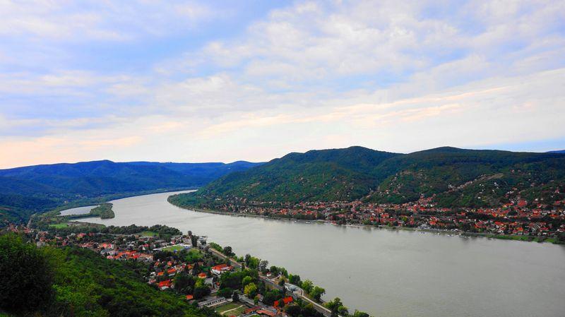 匈牙利布達佩斯近郊小鎮-多瑙河灣Danube Bend-維謝格拉德Visegrad