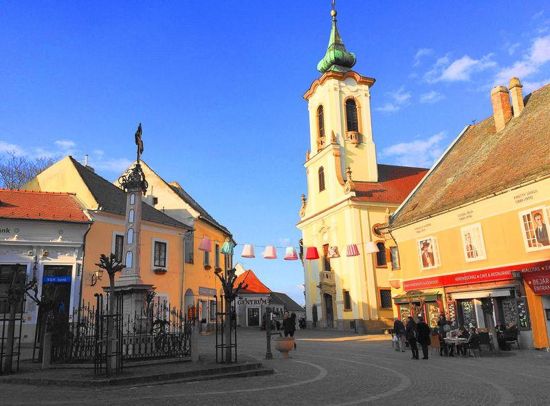 匈牙利布達佩斯周遭小鎮-聖坦德(聖安德烈)Szentendre