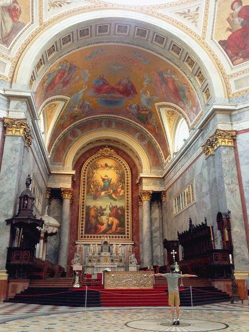 Esztergom Basilica-聖母升天油畫