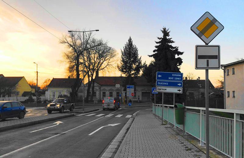 斯洛伐克小鎮Sturovo什圖羅沃:從匈牙利-厄斯特貢小鎮可以經由瑪麗瓦萊里橋 Mary Valeria Bridge直接走來這邊。