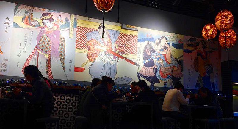 匈牙利打工度假:布達佩斯日式拉麵餐廳,就在Deak捷運站附近,熱鬧的精華地區。