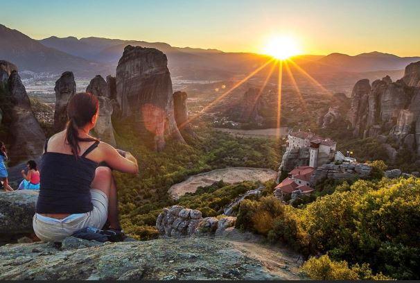 梅特歐拉Meteora:當地觀看日落行程